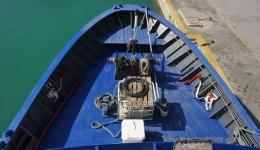 costruzione Prua di un peschereccio