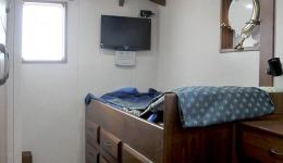 Camera da letto di una nave