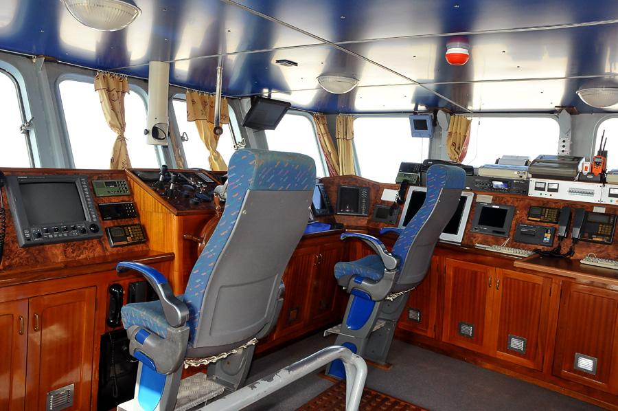 Cabina di comando mecanav srl cantiere navale del for Cabina del biscotto di marthastewart com